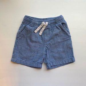 Cat & Jack - Boys Blue Twill Pull On Shorts - 3T